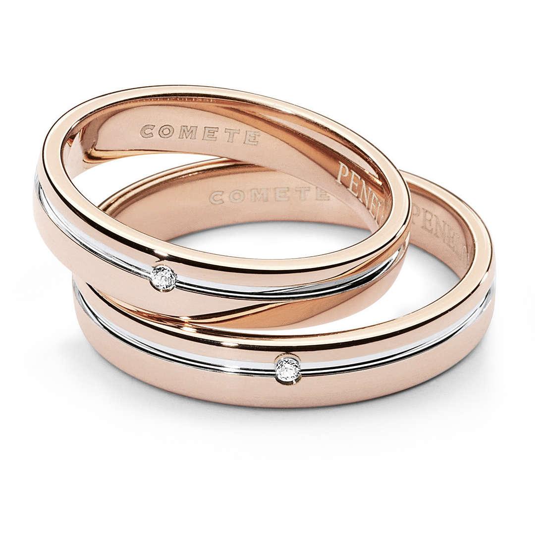 anello unisex gioielli Comete Fedi ANB 1379BR M11