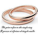 anello unisex gioielli Comete Fedi ANB 1381R M21