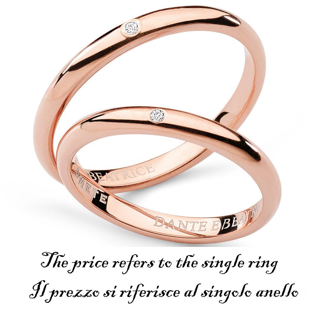 anello unisex gioielli Comete Fedi ANB 1382R M11