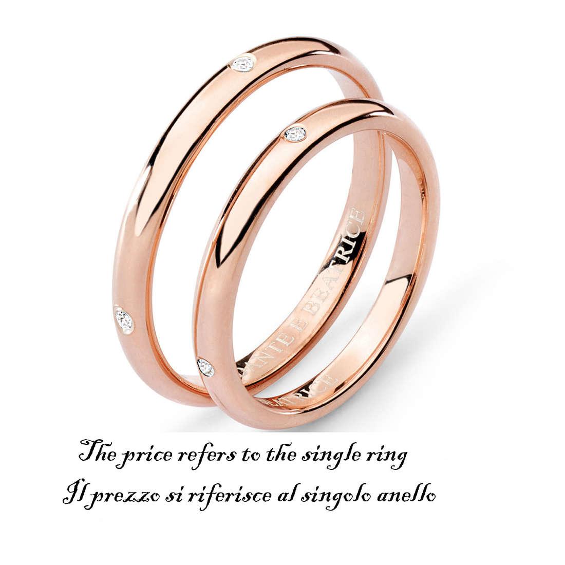 anello unisex gioielli Comete Fedi ANB 1383R M11