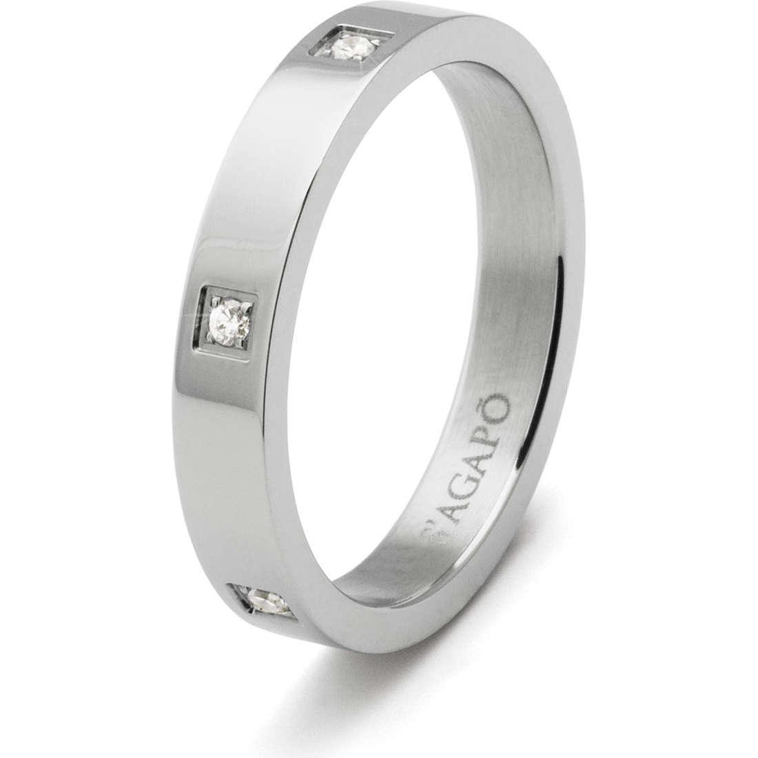 anello unisex gioielli Sagapò Delphi SDE05B
