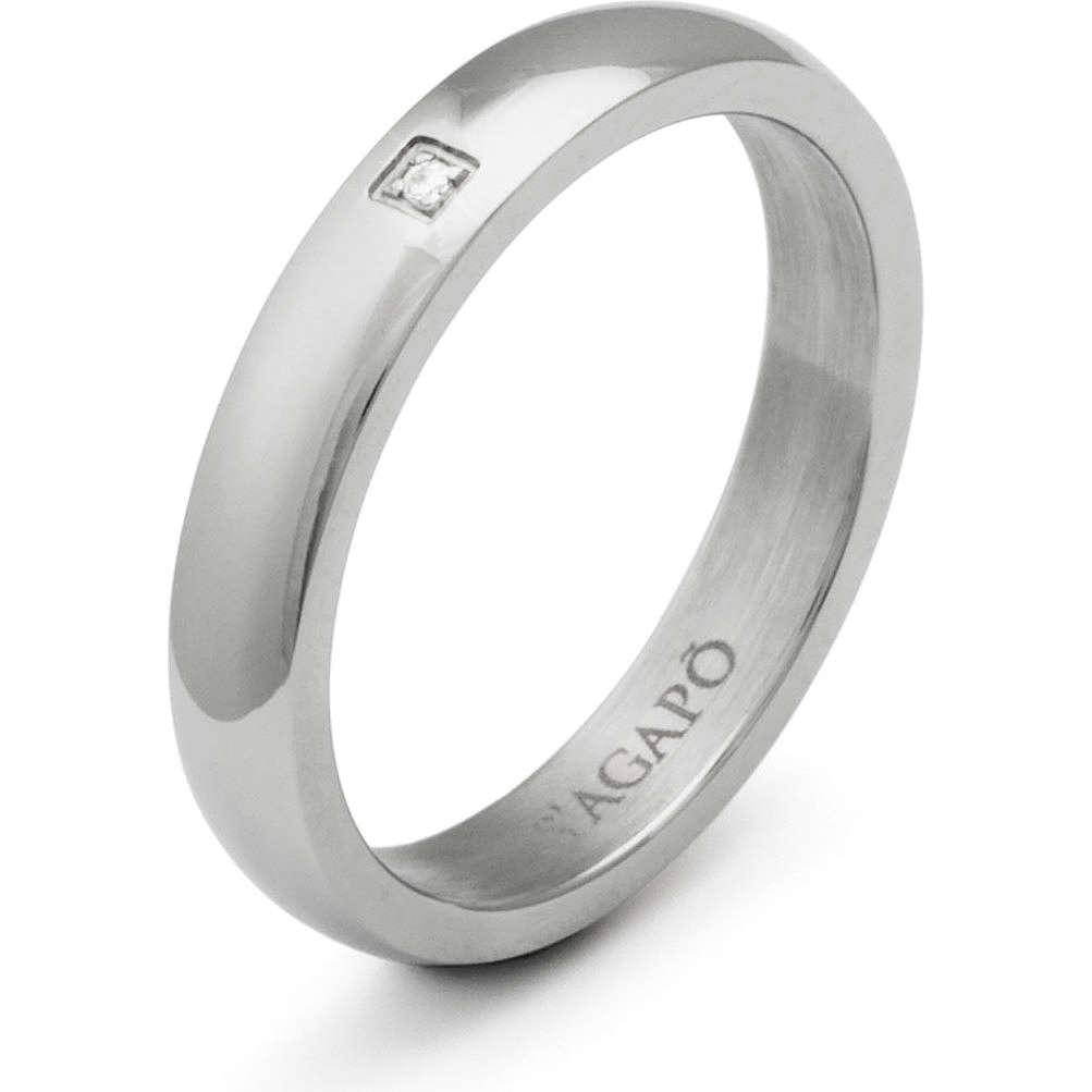 anello unisex gioielli Sagapò Delphi SDE06B