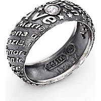 anello uomo gioielli Amen Ave Maria AAM-26