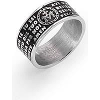 anello uomo gioielli Amen Ave Maria Italiano AMS02925-22