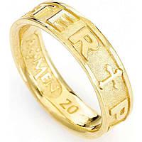 anello uomo gioielli Amen Padre Nostro Latino PATG-26