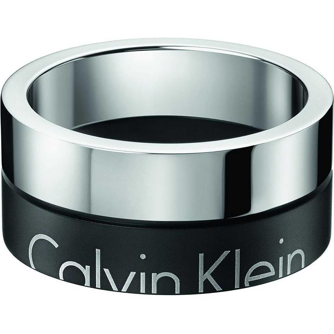 e23581a5e764e0 anello uomo gioielli Calvin Klein Boost KJ5RBR210110 anelli Calvin Klein