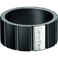 anello uomo gioielli Calvin Klein Plate KJ5SBR280109