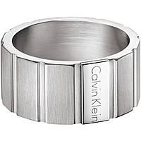 anello uomo gioielli Calvin Klein Plate KJ5SMR080109