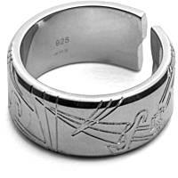 anello uomo gioielli Cesare Paciotti Grapple JPAN1389B/24