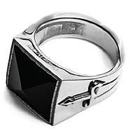 anello uomo gioielli Cesare Paciotti King And Queen JPAN1485V/24