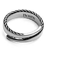 anello uomo gioielli Cesare Paciotti Silent Snakes JPAN1482V/20