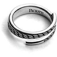 anello uomo gioielli Cesare Paciotti Silent Snakes JPAN1483V/24