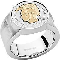 anello uomo gioielli Diesel Steel DX1128040510