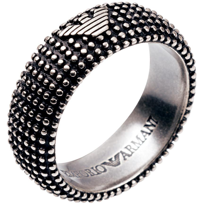 anello uomo gioielli Emporio Armani EG2819040514