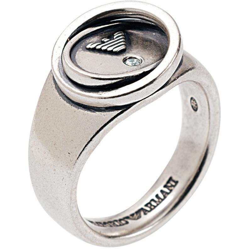 anello uomo gioielli Emporio Armani EG2828040514