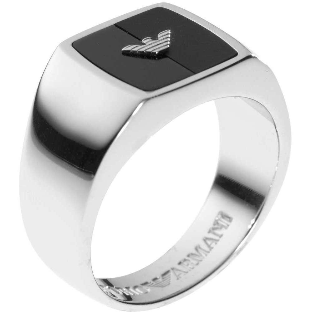 anello uomo gioielli Emporio Armani EG2942040510