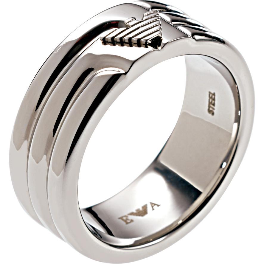 design di qualità 10897 dc4cd anello uomo gioielli Emporio Armani EGS1257040512