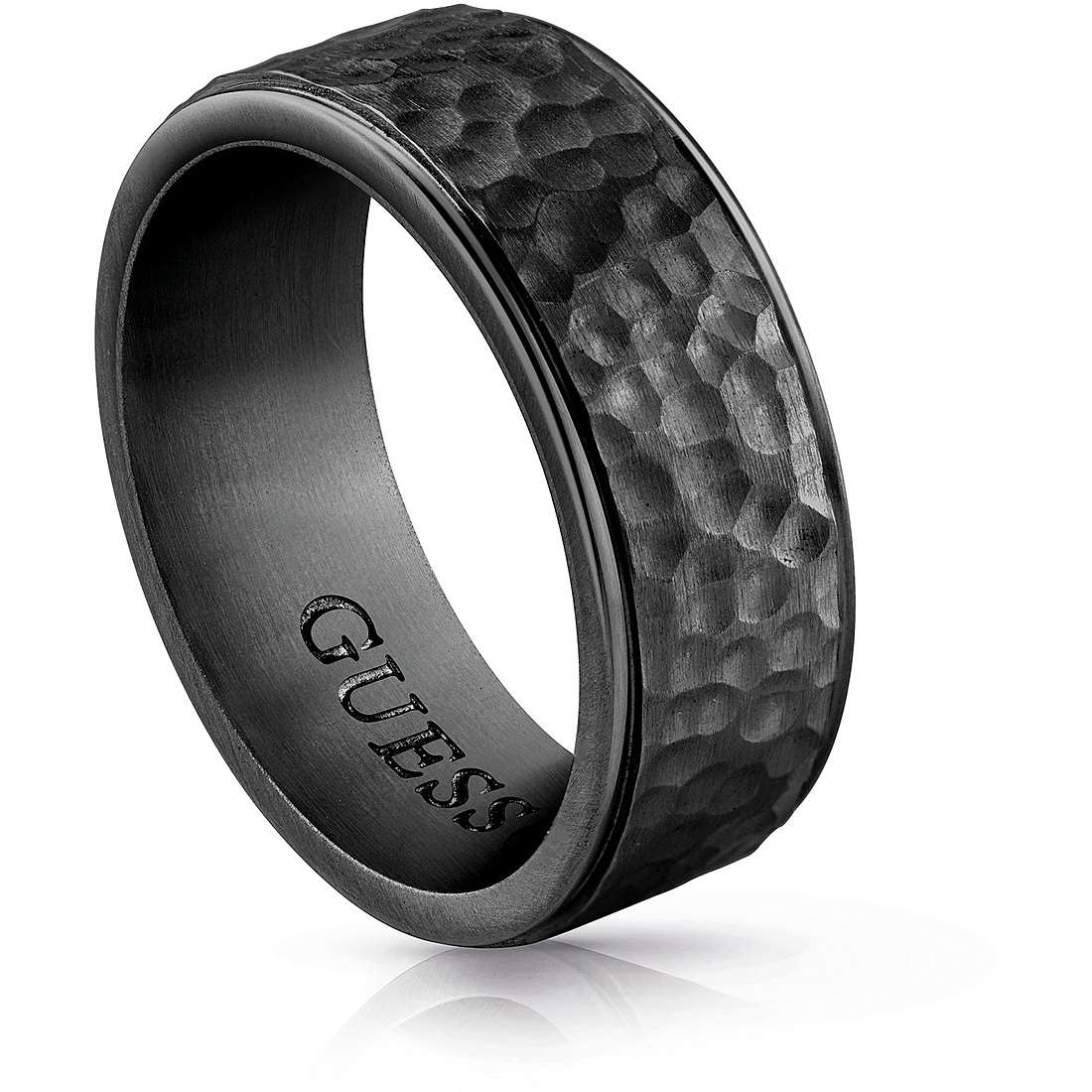 anello uomo gioielli Guess UMR29004 66 anelli Guess