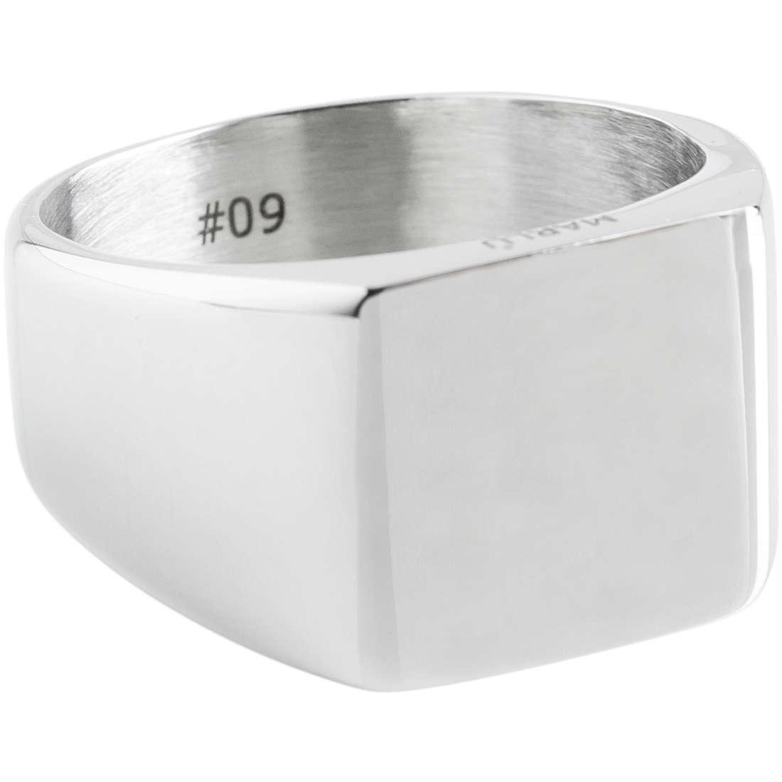 anello uomo gioielli Marlù 4AN0140-22