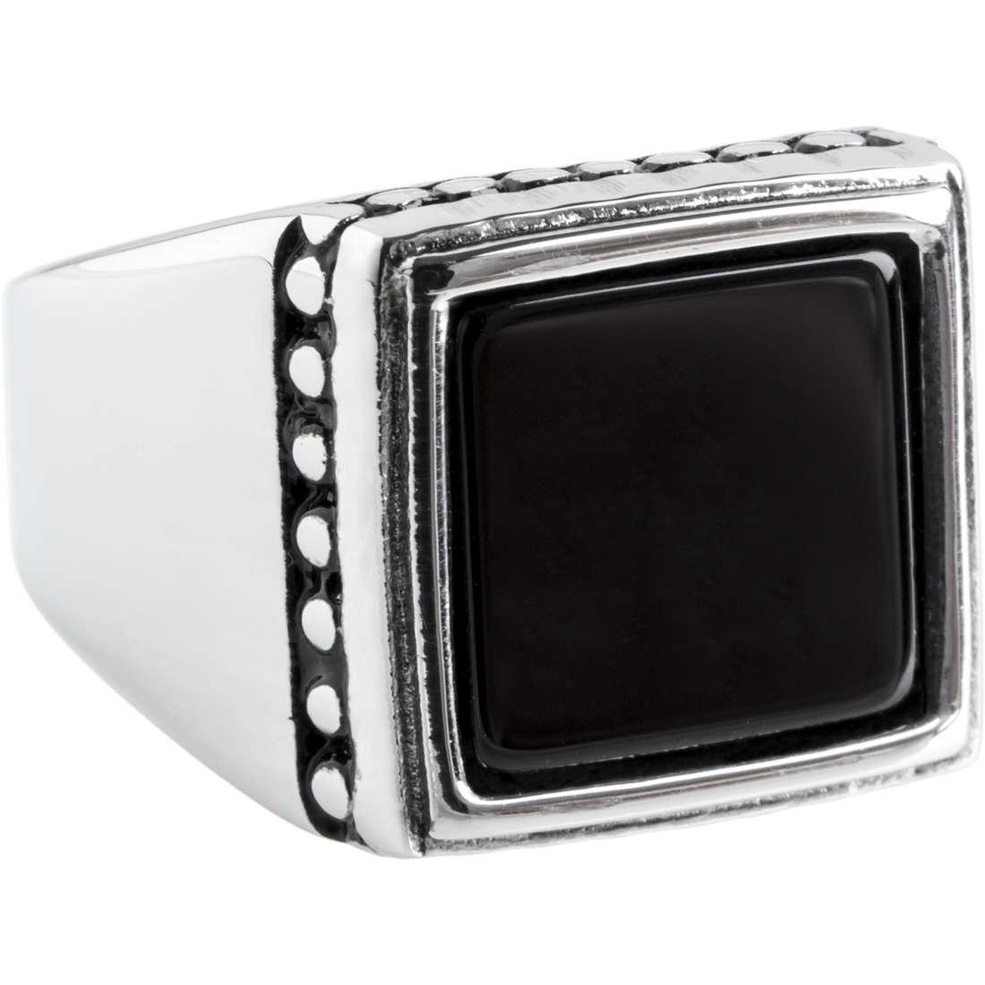 anello uomo gioielli Marlù 4AN0142N-18