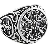 anello uomo gioielli Marlù Dark 4AN0137-22