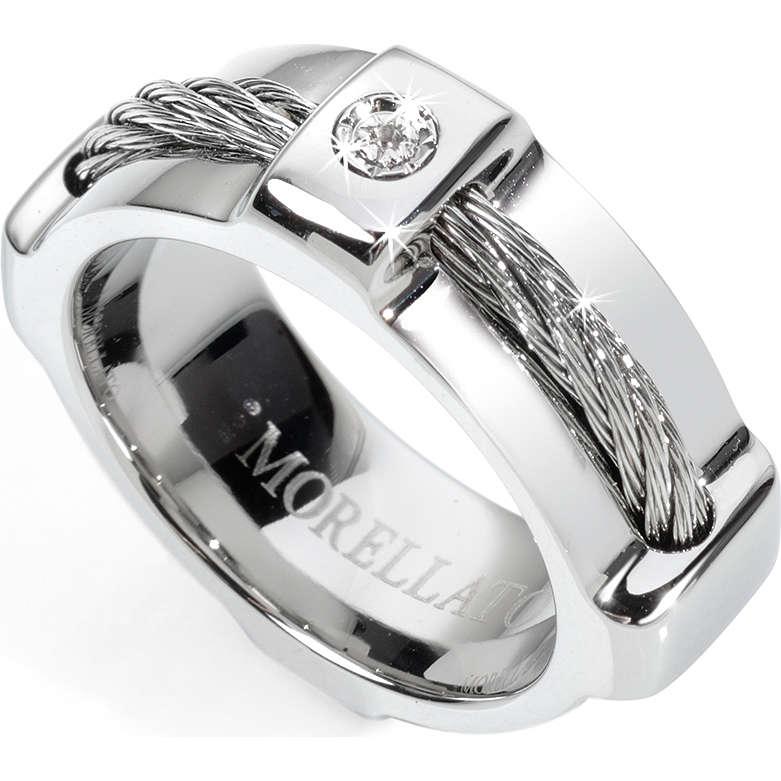 nuovo economico sfumature di godere del prezzo più basso anello uomo gioielli Morellato Cable SKK09021