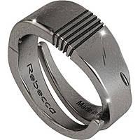 anello uomo gioielli Rebecca Ego SUEAAV04