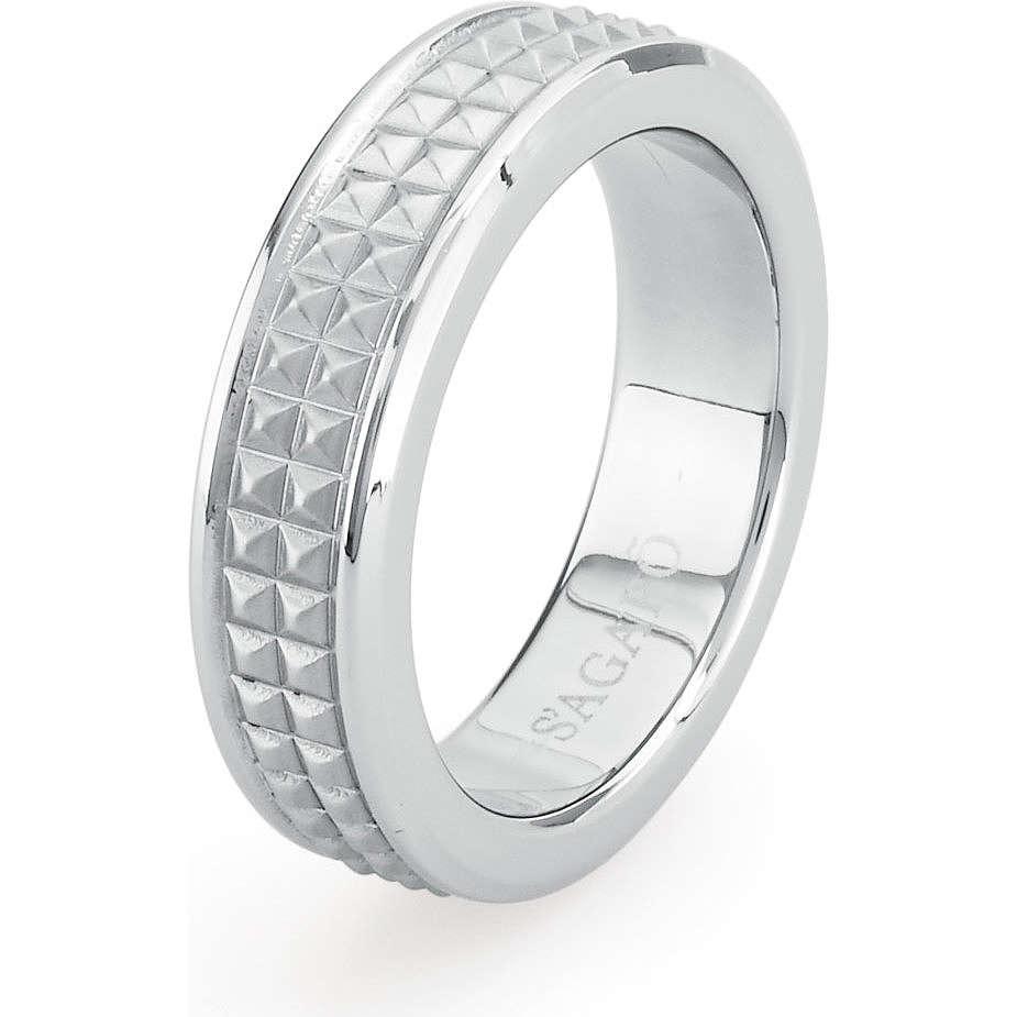 anello uomo gioielli Sagapò Bronx SBR01B