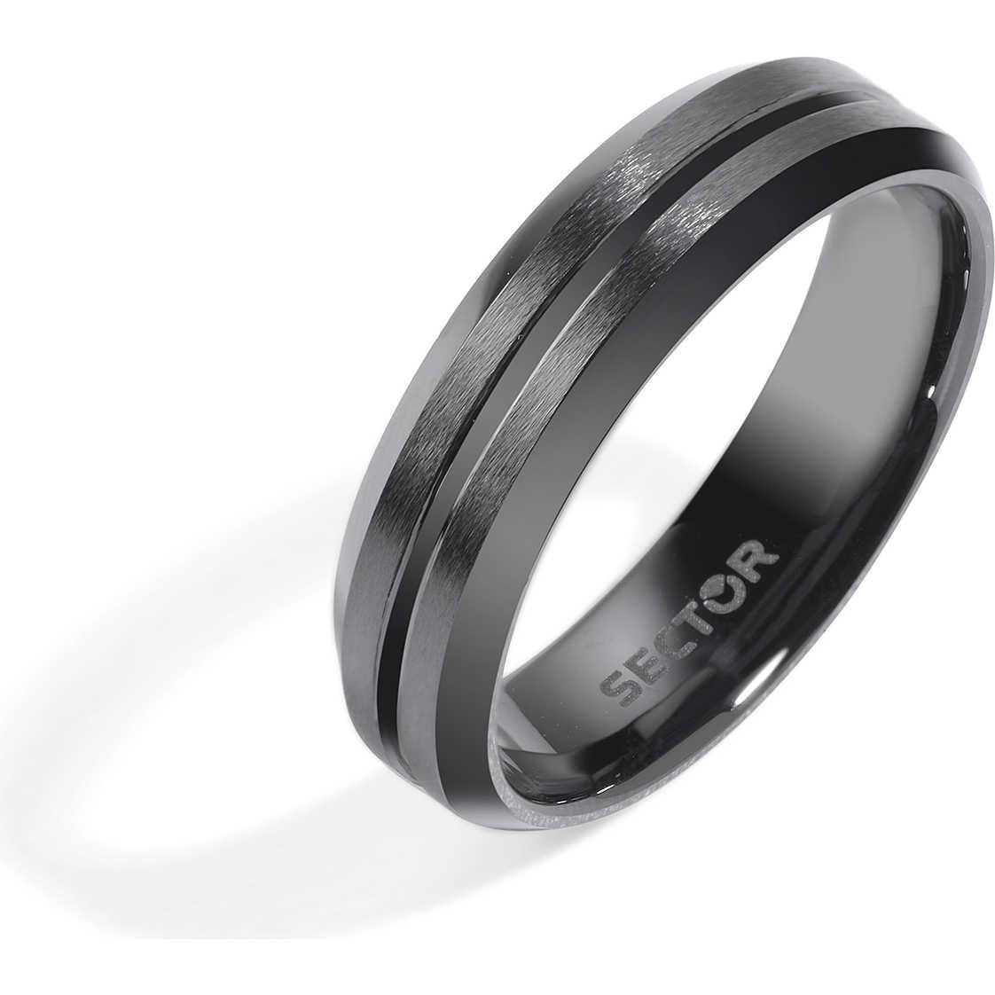 Ben noto anello uomo gioielli Sector Ceramic SLI80023 anelli Sector NX29