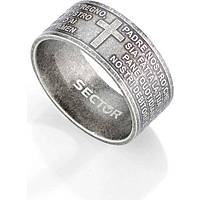 anello uomo gioielli Sector Love and Love SADO36023