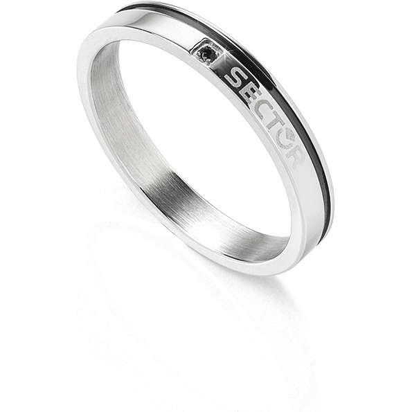 anello uomo gioielli Sector Row SACX03025