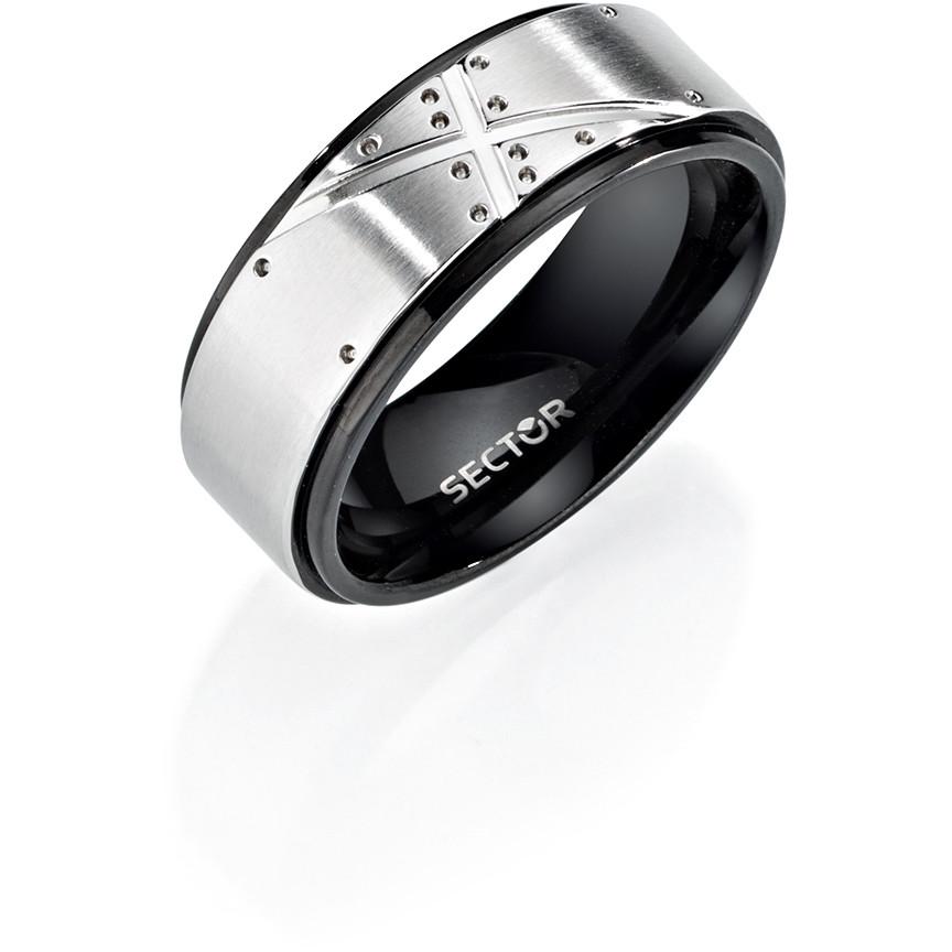 l'ultimo 4d69b 904a7 anello uomo gioielli Sector Row SACX07025