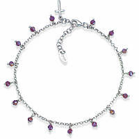 Anklet woman jewellery Amen Romance CACRBV