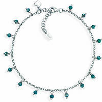 Anklet woman jewellery Amen Romance CACUBP