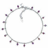 Anklet woman jewellery Amen Romance CACUBV