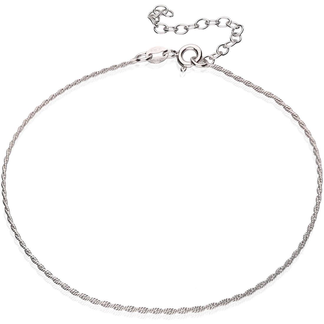 Anklet woman jewellery GioiaPura GPSRSCV0267