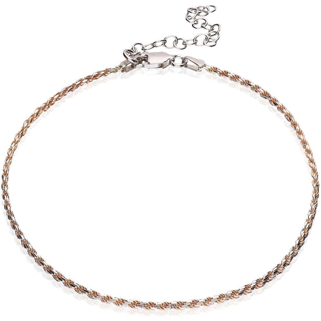 Anklet woman jewellery GioiaPura GPSRSCV0269