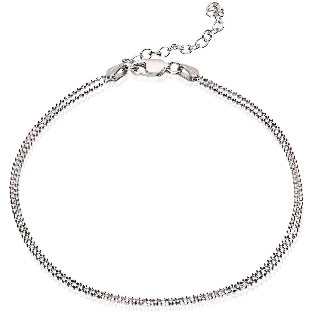 Anklet woman jewellery GioiaPura GPSRSCV0272