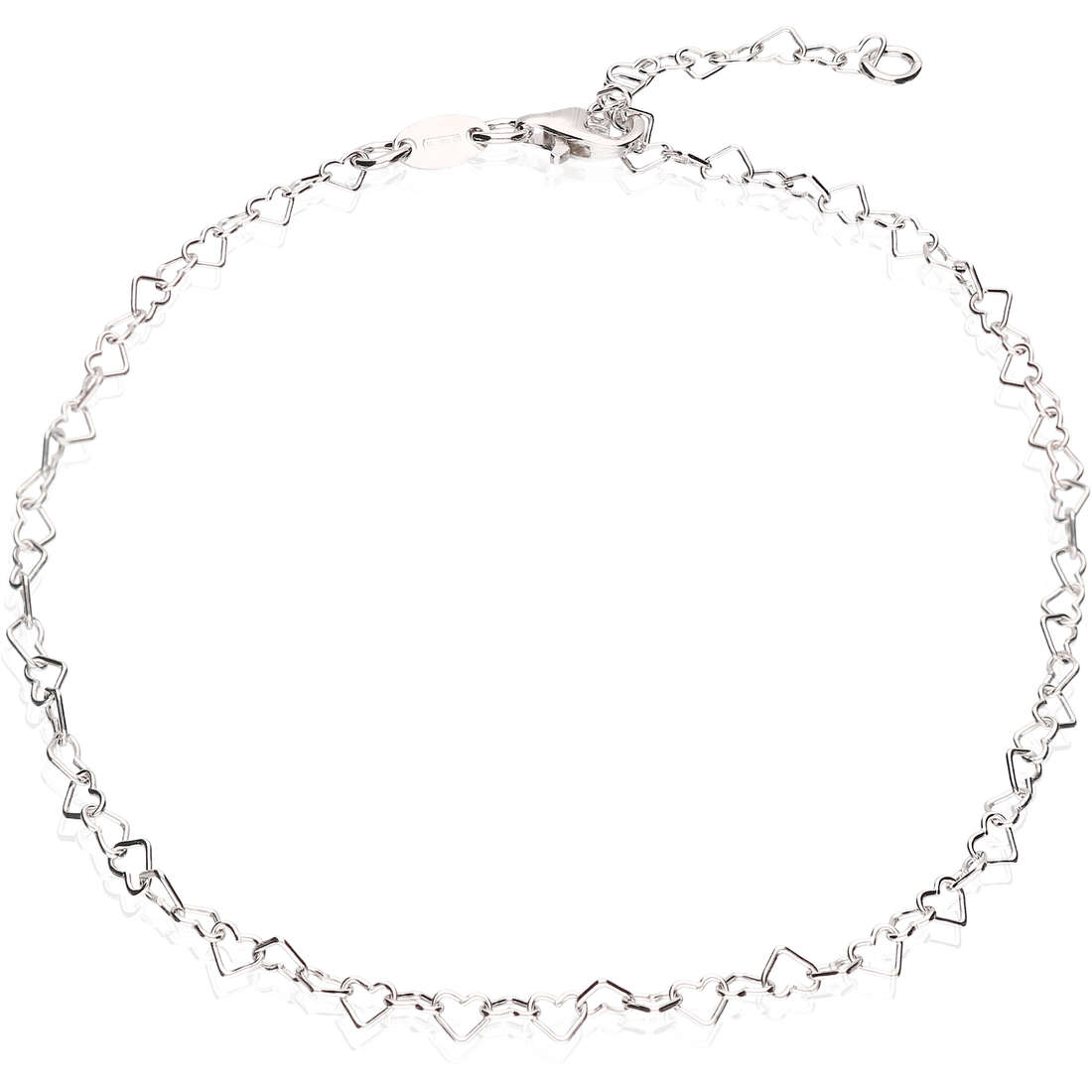 Anklet woman jewellery GioiaPura GPSRSCV0273