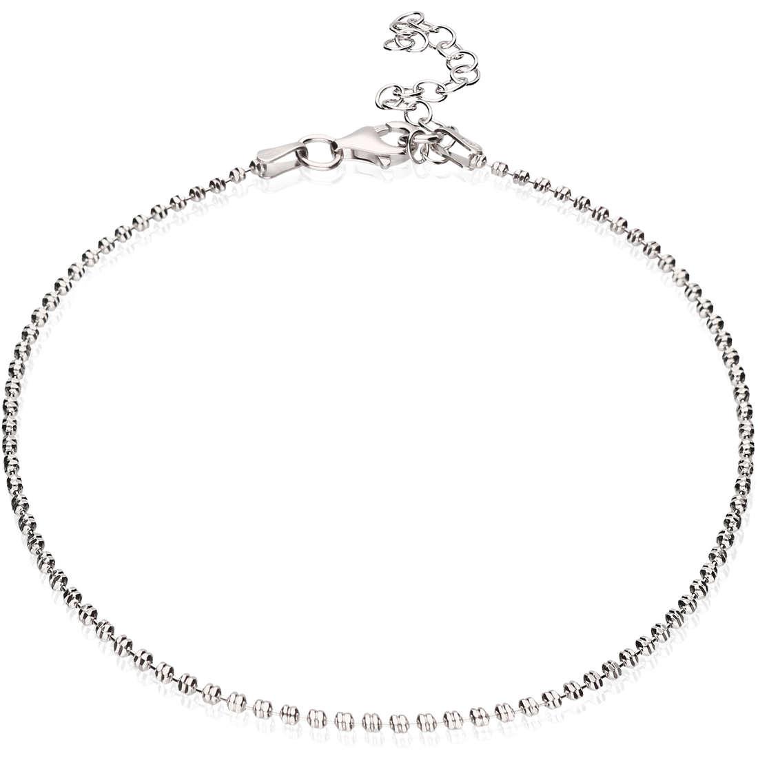 Anklet woman jewellery GioiaPura GPSRSCV0275