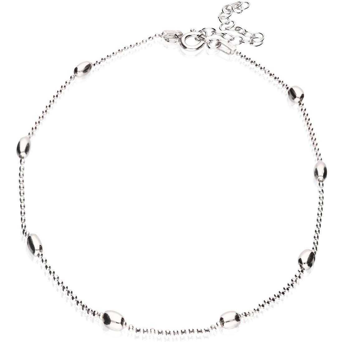 Anklet woman jewellery GioiaPura GPSRSCV0278