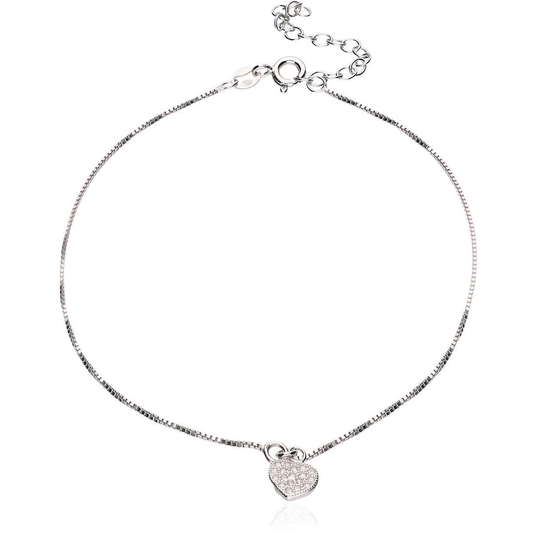 Anklet woman jewellery GioiaPura GPSRSCV0282
