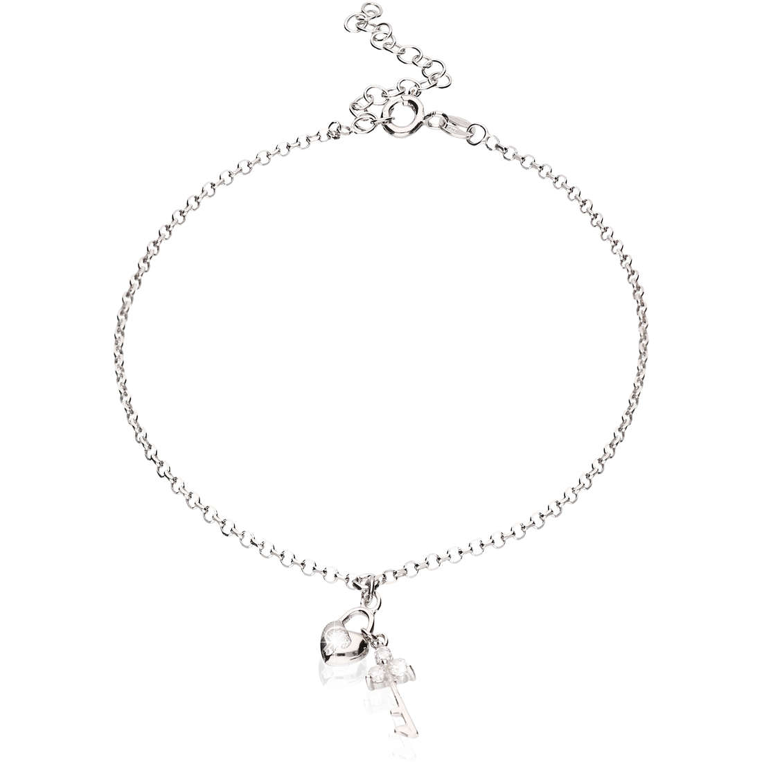 Anklet woman jewellery GioiaPura GPSRSCV0284