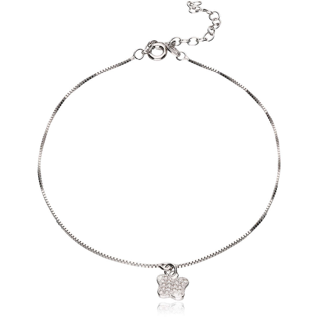 Anklet woman jewellery GioiaPura GPSRSCV0285