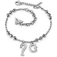 Anklet woman jewellery Guess UBA85001
