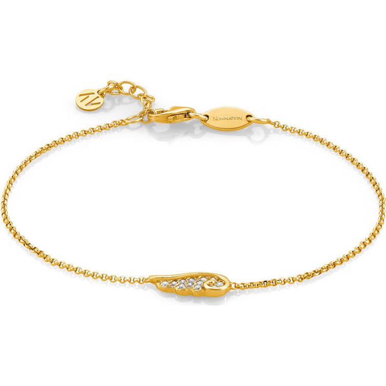 armband frau schmuck nomination angel 145320 012 armbanden. Black Bedroom Furniture Sets. Home Design Ideas