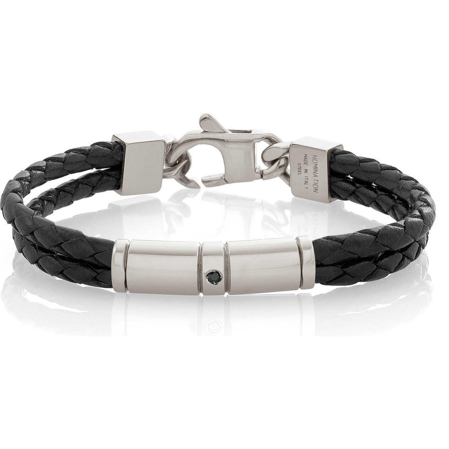 armband mann schmuck nomination tribe 026421 001 armbanden. Black Bedroom Furniture Sets. Home Design Ideas