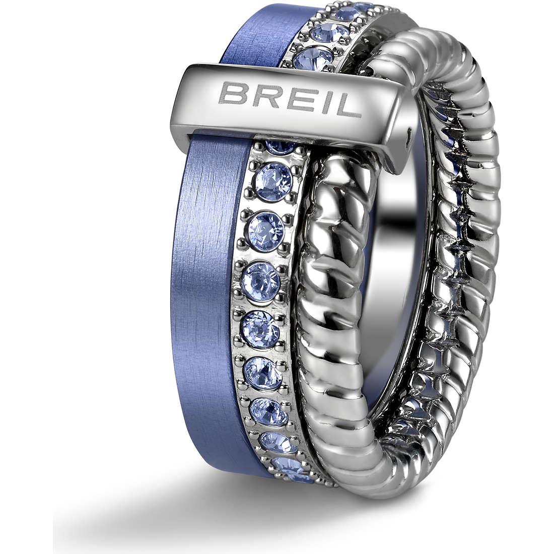 bague femme bijoux Breil Breilogy Torsion TJ1717