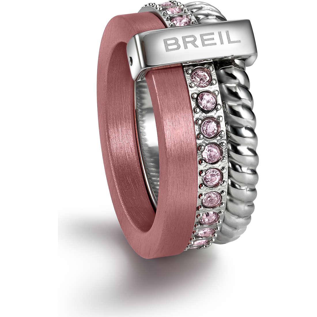 bague femme bijoux Breil Breilogy Torsion TJ1722