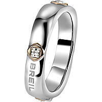 bague femme bijoux Breil Crossing Love TJ1554